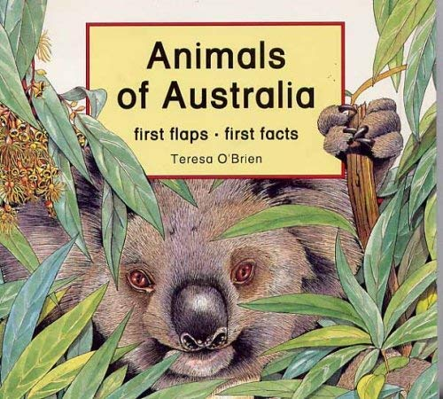 Animals-of-Australia-first-flaps-first-facts-Book-The-Cheap-Fast-Free-Post