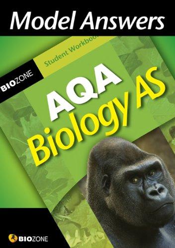 Model Answers AQA Biology as Student Workbook By Richard Allan