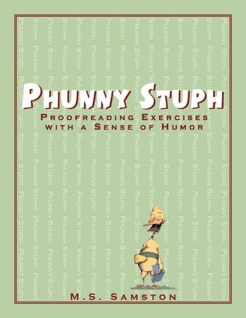 Phunny Stuph By M. S. D. Samston