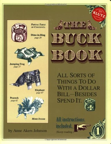 The Buck Book By Anne Akers Johnson