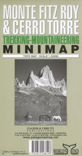 Monte Fitz Roy & Cerro Torre Minimap: Trekking & Mountaineering By Sergio Zagier