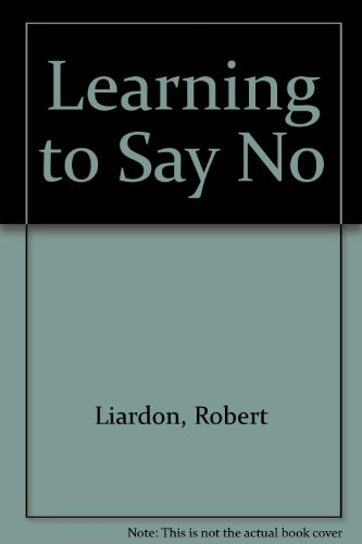 Learn To Say No Book