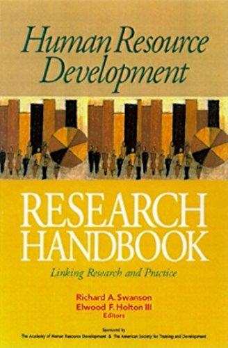 Human Resource Development Research Handbook By SWANSON