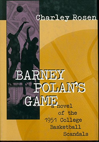 BARNEY POLAN'S GAME by Charley Rosen Hardback Book The Cheap Fast Free Post