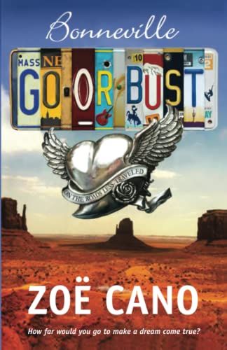 Bonneville Go or Bust By Zoe Cano