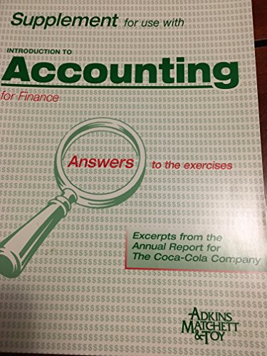 Introduction to Accounting for Finance Bankers By alastair-matchett-kieran-maguire