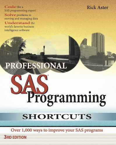 Professional SAS Programming Shortcuts: Over 1,000 Ways to Improve Your SAS Programs By Rick Aster