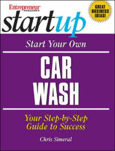 Start Your Own Car Wash By Entrepreneur Press