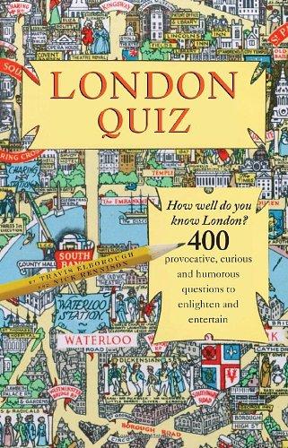 London Quiz By Travis Elborough