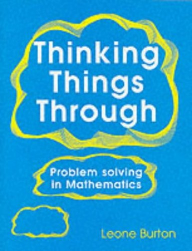 Thinking Things Through By Prof. Leone Burton