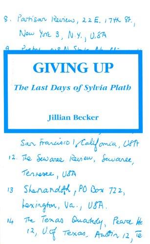 Giving Up par Jill Becker