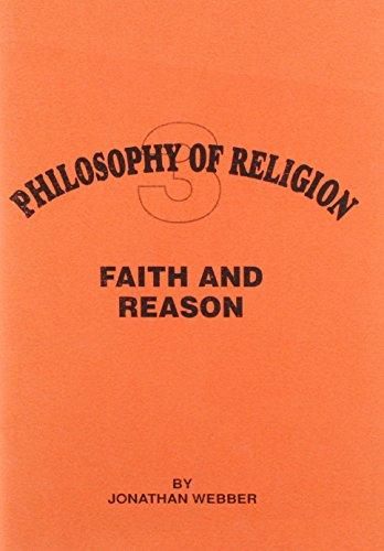 Faith and Reason By Jonathan Webber