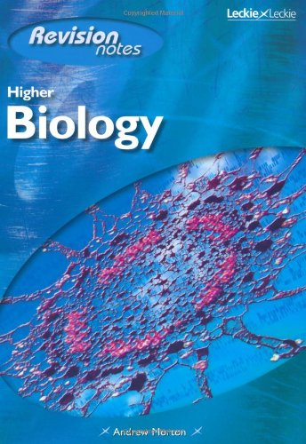 Higher Biology Course Notes By Andrew Morton
