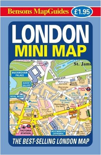 London Mini Map by Bensons MapGuides