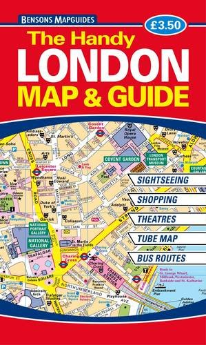 The Handy London Map and Guide by Bensons MapGuides