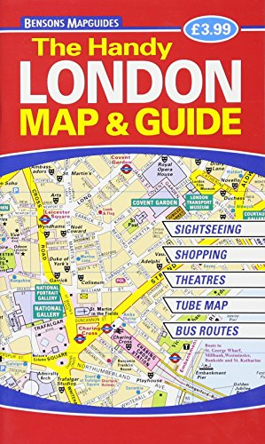 The Handy London Map & Guide By Bensons MapGuides