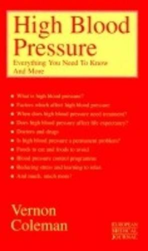 High Blood Pressure by Vernon Coleman