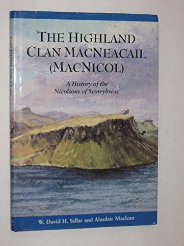 Highland Clan Macneacail (MacNicol) By David Sellar