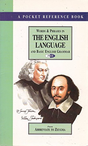 Words and Phrases in the English Language By Francis Cooke