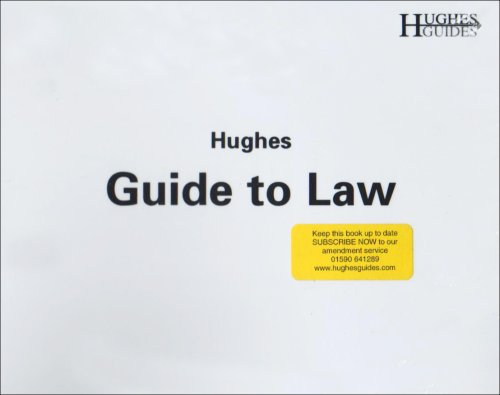 Hughes Guide to Traffic Law By K. Mark Hughes