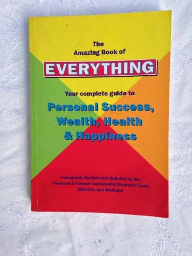 Amazing Book of Everything By Ian Maitland