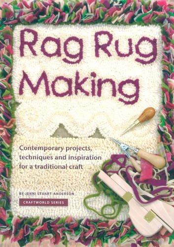 Rag Rug Making by Jenni Stuart-Anderson