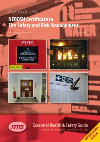 A Study Book for the NEBOSH Certificate in Fire Safety and Risk Management by Edited by Ian Coombes
