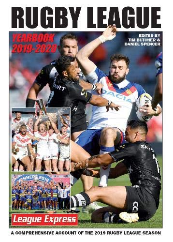 Rugby League Yearbook 2019 - 2020 By Tim Butcher