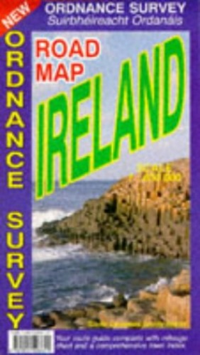 Road Map Ireland (Osi Maps) By Ordnance Survey