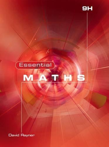 Essential Maths By David Rayner