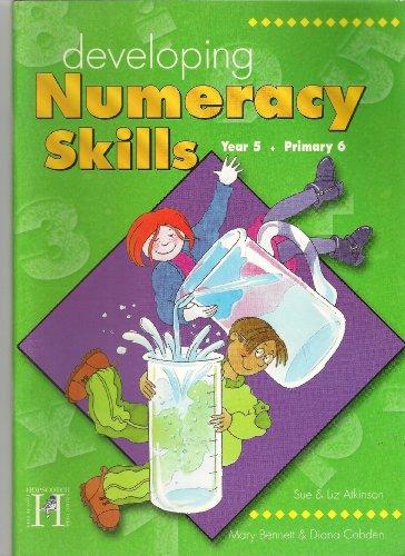 Developing Numeracy Skills By Sue Atkinson