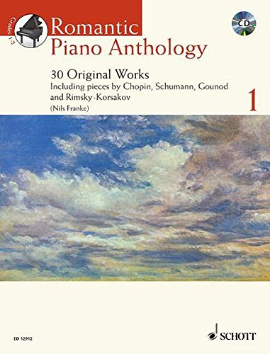 Romantic Piano Anthology 1 By Nils Franke