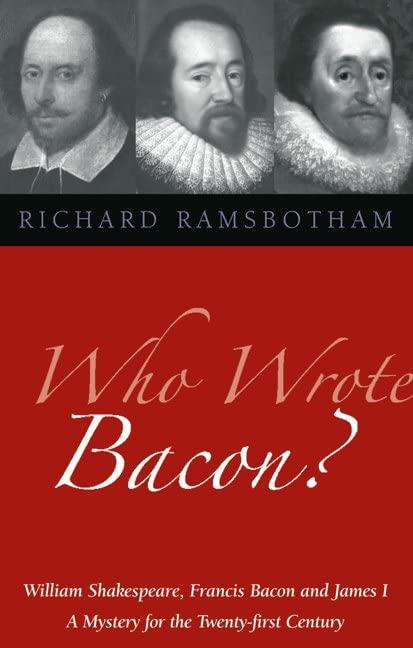 Who Wrote Bacon? par Richard Ramsbotham