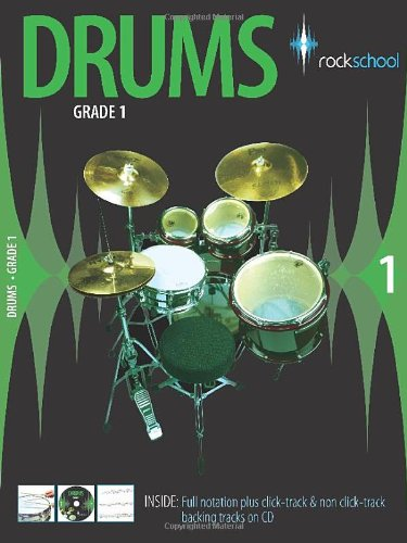 Rockschool Drums Grade 1 (2006-2012) By Simon Pitt
