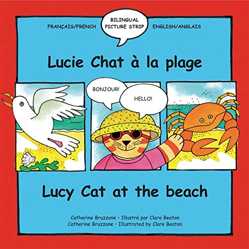 Lucy Cat at the Beach/Lucie Chat a la plage By Catherine Bruzzone