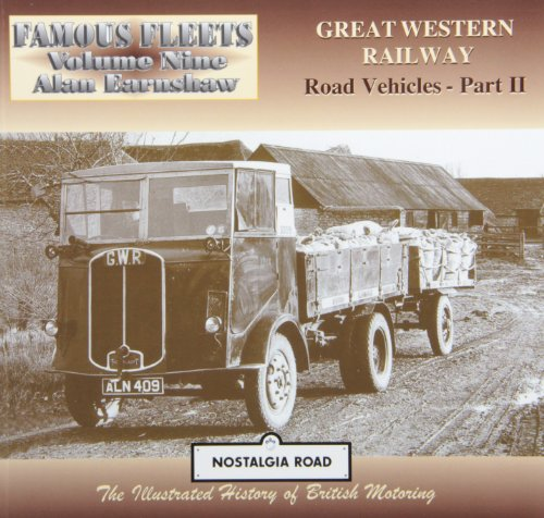 Great Western Railway Road Vehicles By Alan Earnshaw