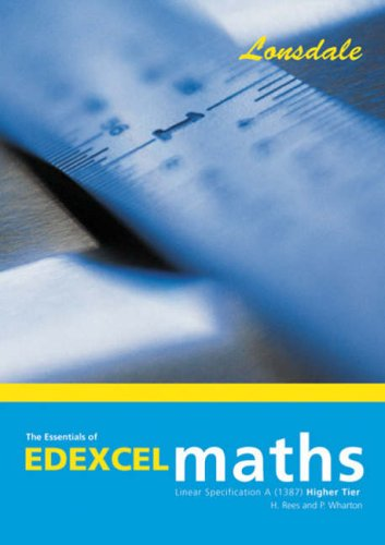 The Essentials of Edexcel Maths Linear Specification A (1387) By Paul Wharton