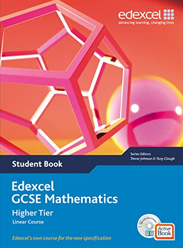 Edexcel GCSE Maths 2006: Linear Higher Student Book and Active Book with CDROM von Tony Clough