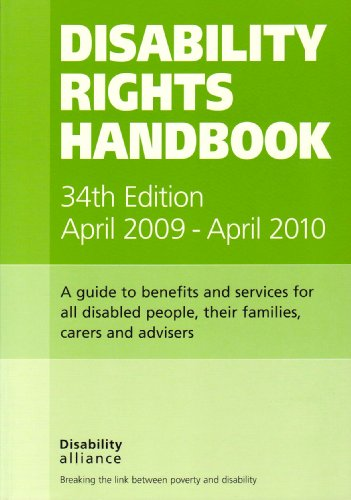 Disability Rights Handbook By Ian Greaves