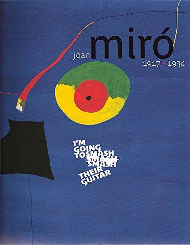 Joan Miro, 1917-1934 by Agnes De La Baumelle