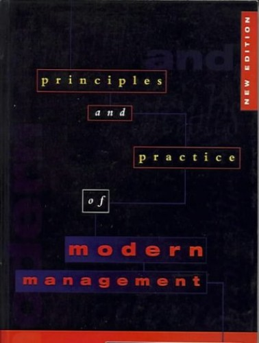 The Principles and Practice of Modern Management By Tony Dawson