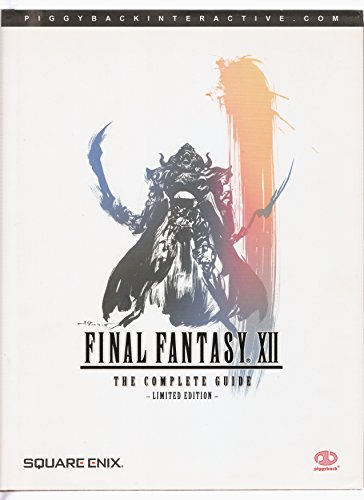 Final Fantasy XII (Limited Edition): The Complete Guide By Daujam Mathieu