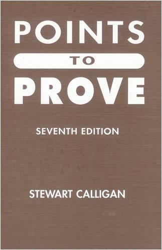 Points to Prove By Stewart Calligan