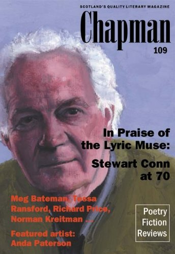 Chapman 109: In Praise of the Lyric Muse By Stewart Conn