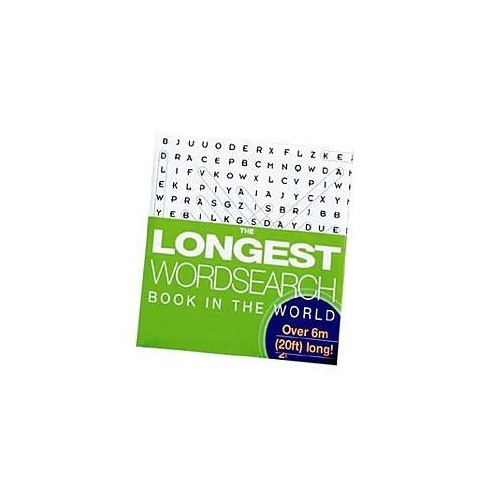 The Longest Wordsearch Book in the World By Nikole G. Bamford
