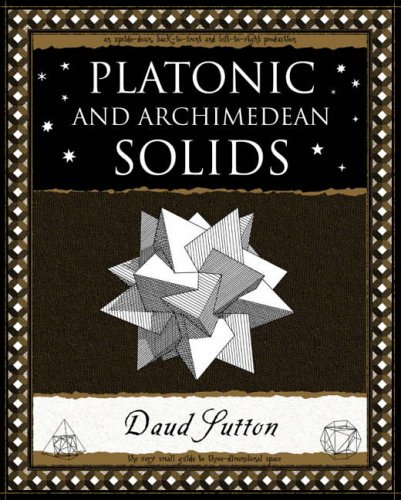 Platonic and Archimedean Solids (Wooden Books Gift Book) By Daud Sutton