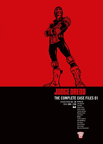 Judge Dredd: v. 1: Complete Case Files by John Wagner
