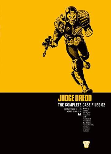 Judge Dredd: v. 2: Complete Case Files by John Wagner