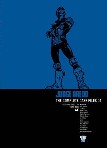 Judge Dredd: v. 4: Complete Case Files by John Wagner