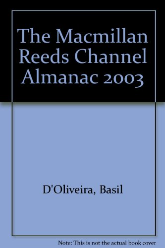 The Macmillan Reeds Channel Almanac By Basil D'Oliveira
